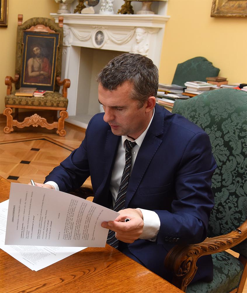 Artur Kozioł Burmistrz Miasta i Gminy Wieliczka