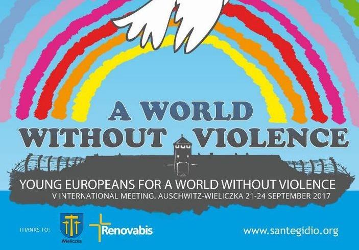 """V. Międzynarodowe Spotkanie Młodych - """"Młodzi Europejczycy dla Świata bez przemocy w Wieliczce"""