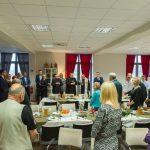 spotkanie opłatkowe w domu miłosierdzia w Brzegach z Artur Kozioł i Stanisław Dziwisz