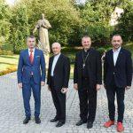 Wizyta ks. kard. Fernando Filoni w Wieliczce