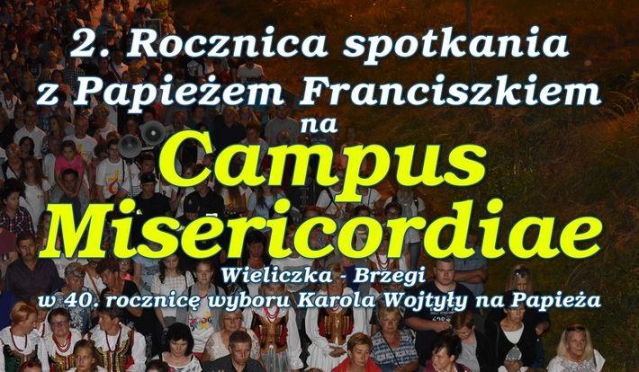 Brama Miłosierdzia na Campus Misericordiae Wieliczka-Brzegi