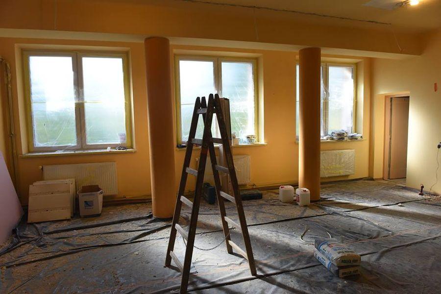 Modernizacja Domu Ludowego w Małej Wsi na potrzeby przedszkolne