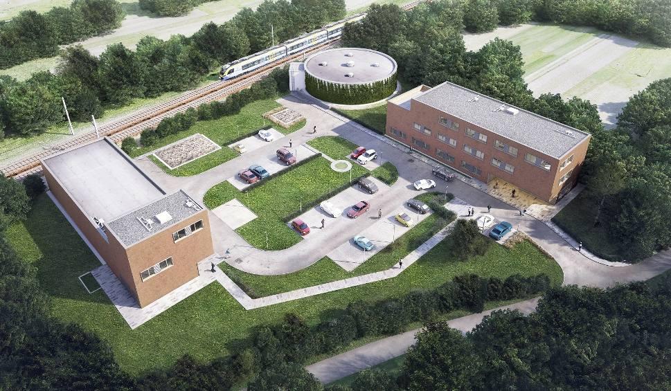 budowa zakładu uzdatniania wody na os. Bogucice w Wieliczce