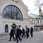 Wizyta rumuńskiej delegacji w Wieliczce