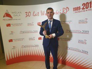 Orzeł Niepodległości dla Gminy Wieliczka 2019 - Artur Kozioł