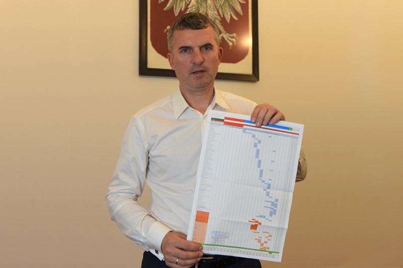 harmonogram rozbudowy Szkoły Podstawowej w Mietniowie Artur Kozioł