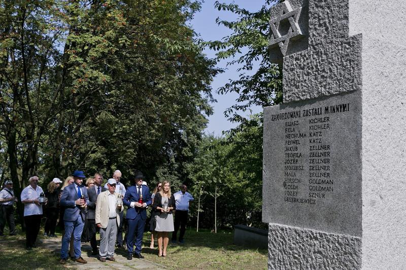 77. Rocznica zagłady Żydów z Wieliczki i okolicznych miejscowości
