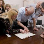 Wizyta rodziny Milnerów w Wieliczce