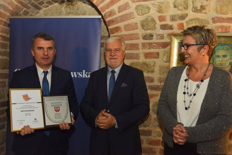 Najpopularniejszy Burmistrz Małopolski 2019 - Artur Kozioł