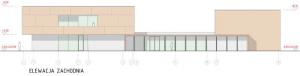 Budowa nowej szkoły podstawowej w Wieliczce ul. Jedynaka wizualizacja