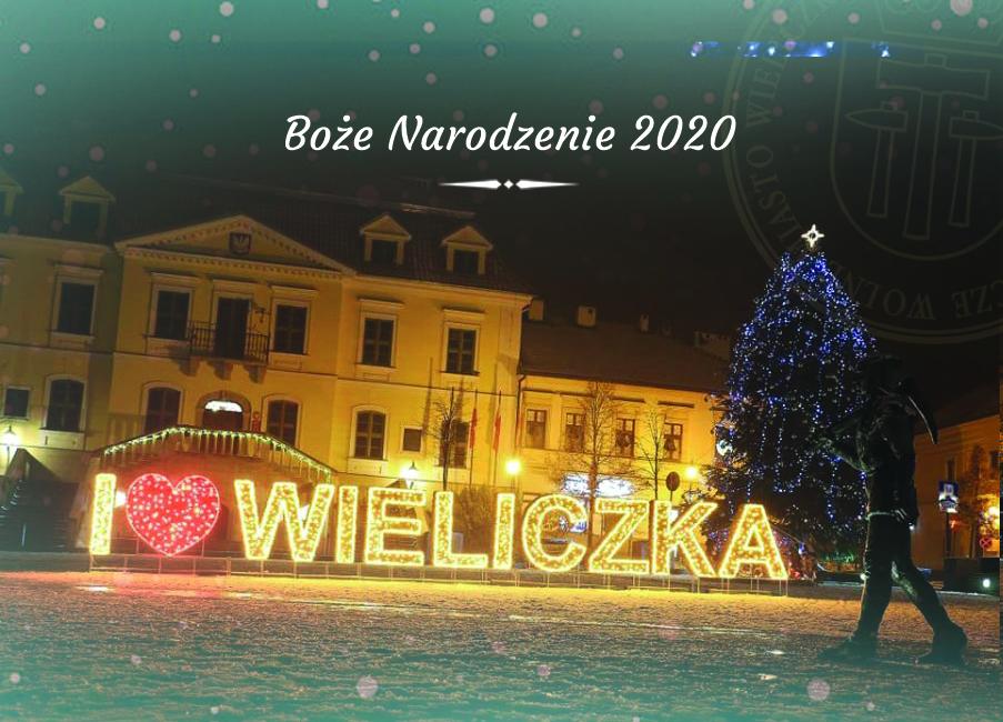 życzenia bożonarodzeniowe 2020 wieliczka, artur kozioł