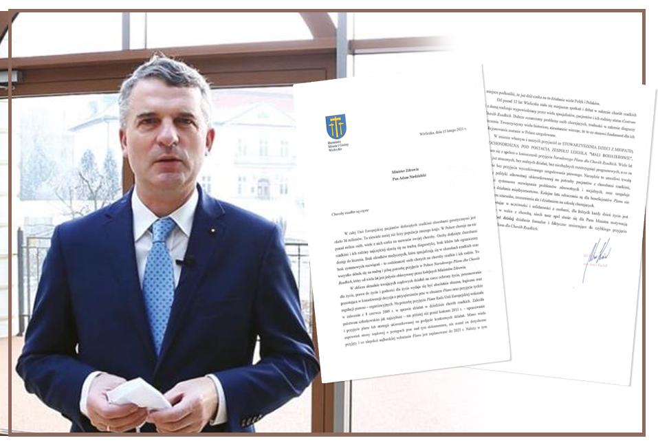 apel do Ministra Zdrowia w sprawie konieczności przyjęcia Narodowego Planu Chorób Rzadkich, Artur Kozioł