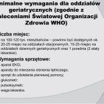III sesja gminnej rady seniorów w Wieliczce, szpital geriatryczny założenia programowe