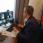 III sesja gminnej rady seniorów w Wieliczce, Artur Kozioł