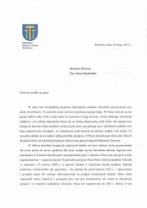 apel do Ministra Zdrowia w sprawie konieczności przyjęcia Narodowego Planu Chorób Rzadkich_cz1