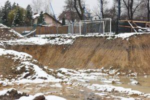 budowa hali sportowej w Sygneczowie, Wieliczka